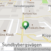 Karta Abf Solna Solna, Sverige