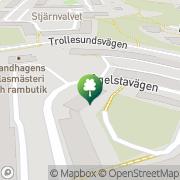 Karta Transmec Marin, AB Stuvsta, Sverige