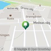 Karta Hund och Kattspecialisten Gustavsberg, Sverige