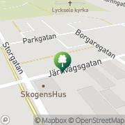 Karta Gymmet Lycksele, Sverige