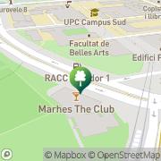 Map DiR Campus   Barcelona, Spain
