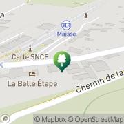 Carte de Chambres À partir de Maisse, France