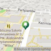 Mapa Pływalnia Busko-Zdrój, Polska