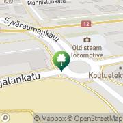 Kartta RJS Samurai ry Rauma, Suomi