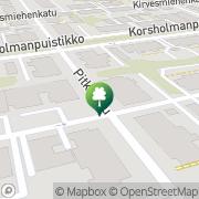Kartta Vasa Idrottssällskap r.f. Vaasa, Suomi
