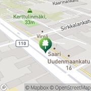 Kartta Turun Riento ry Turku, Suomi