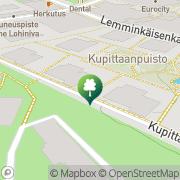 Kartta Turun Seudun Ampujat ry Turku, Suomi