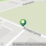 Kartta Isonkyrön kunta uimahalli matkahuolto ja posti Isokyrö, Suomi