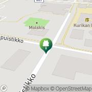 Kartta Kuntosali Kroppani Kurikka, Suomi
