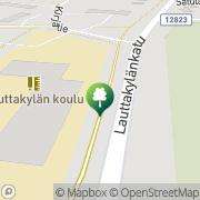 Kartta Huittisten kaupunki Huhkolinna Huittinen, Suomi