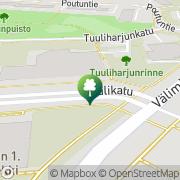 Kartta Nokian kaupunki uimahalli Nokia, Suomi