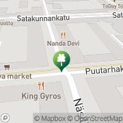 Kartta Chitalada Finland Tampere, Suomi