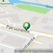 Kartta Kisaranta Vimpeli, Suomi