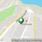 Kartta Otaniemen uimahalli Espoo, Suomi