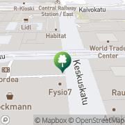 Kartta Motivus Stockmann Helsinki, Suomi
