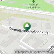 Kartta Biljardimyynti Mero Oy Helsinki, Suomi
