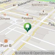 Kartta Oulujoen Kiekko ry Oulu, Suomi
