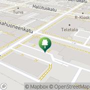 Kartta Securi Oulu Oulu, Suomi