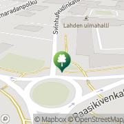 Kartta Lahden kaupunki uimahalli Lahti, Suomi