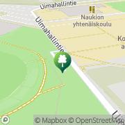 Kartta Kuusankosken Keilahalli Kuusankoski, Suomi