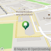 Kartta Kouvolan kaupunki Kuusankosken lukio Kouvola, Suomi