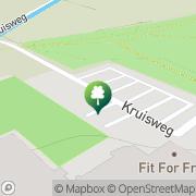 Kaart Reyerbos Healthcenter Ridderkerk, Nederland
