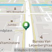 Kaart Mobilis Fitness Amsterdam, Nederland