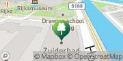 Map Zuiderbad Amsterdam, Netherlands