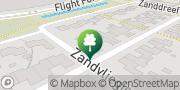 Kaart JK Zwembaden Eindhoven, Nederland