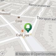 Kaart Iuno-Pilates Nijmegen, Nederland