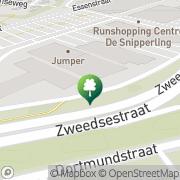 Kaart Basic Fit Deventer, Nederland