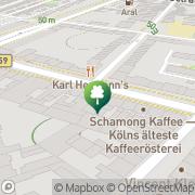 Karte Vitadrom Fitness und Gesundheitszentrum Köln, Deutschland