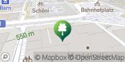 Karte New Dance Academy GmbH Bern, Schweiz