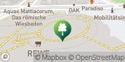 Karte Fitness First Wiesbaden Wiesbaden, Deutschland