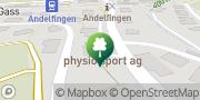 Karte physio sport ag Andelfingen, Schweiz