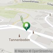 Karte Schweizer Skischule & Snowboardschule Flumserberg Flumserberg Tannenbodenalp, Schweiz