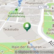 Karte Kampfsport Akademie Kirchheim unter Teck, Deutschland