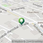 Karte NACHTCAFE Club Bar Hohenems, Österreich