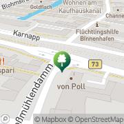 Karte Fitness und Kung Fu Center Hamburg, Deutschland