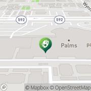 Map Palms Casino Resort Las Vegas, United States