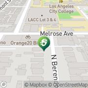Map Orbetello Los Angeles, United States