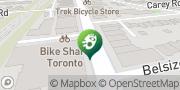 Map Anna's Psychic Studio Toronto, Canada
