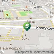 Mapa Desa Warszawa, Polska