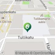 Kartta Tampereen kaupunki Tullikamarin kulttuurikeskus Tampere, Suomi