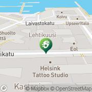 Kartta AADI galleria Helsinki, Suomi