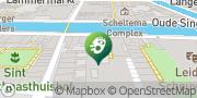 Kaart Imperium Theater Leiden, Nederland