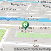 Kaart Charles Klassieke en Etnische Muziek Amsterdam, Nederland