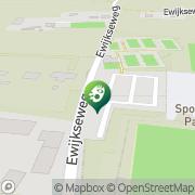 Kaart Passelegt Sportpark De Overasselt, Nederland