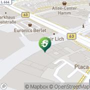 Karte Click Trend Media GmbH Hamm, Deutschland