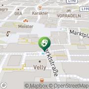 Karte net culture lab Dornbirn, Österreich